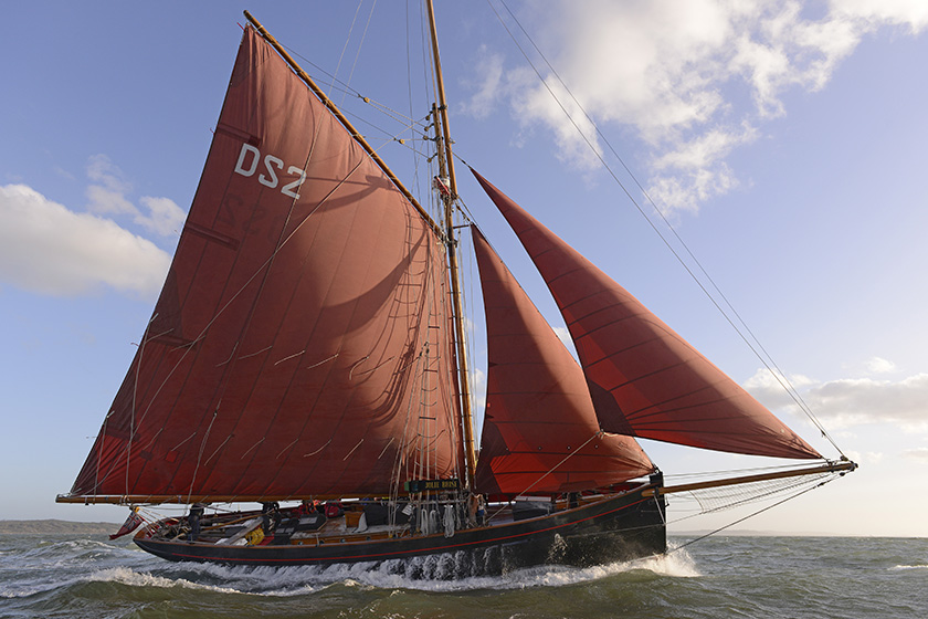 Dauntsey's tall ship