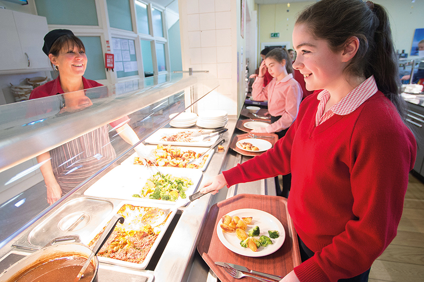 St George's School Food