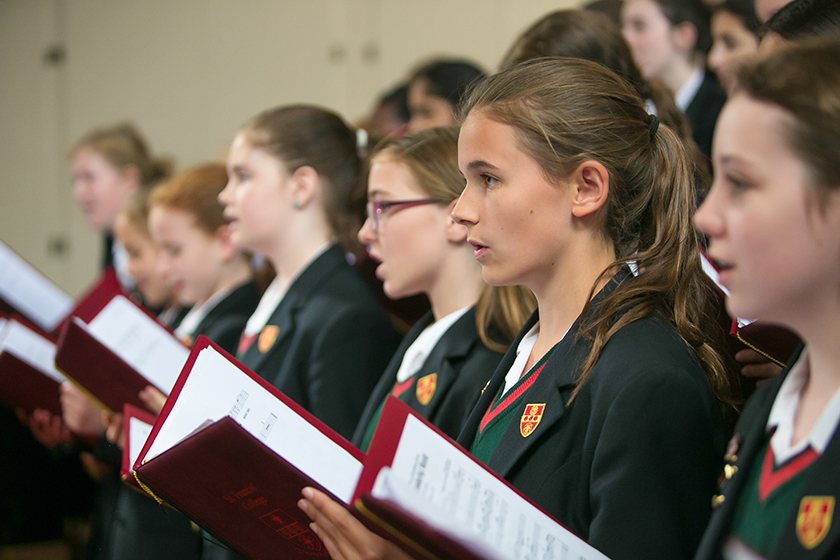 St Francis' College choir