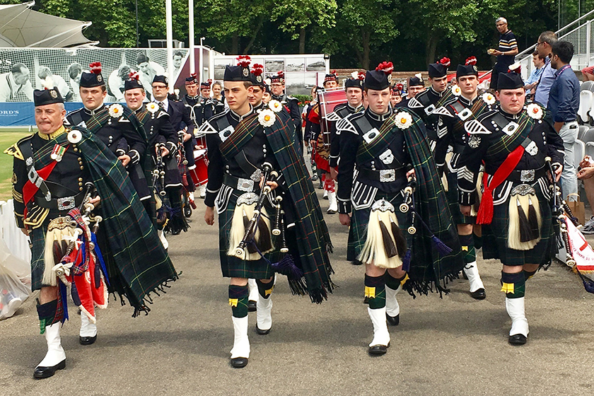 Loretto Lord's Pipe Band