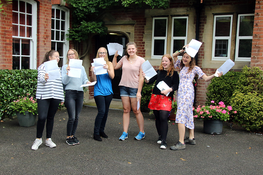 Godolphin A-level results