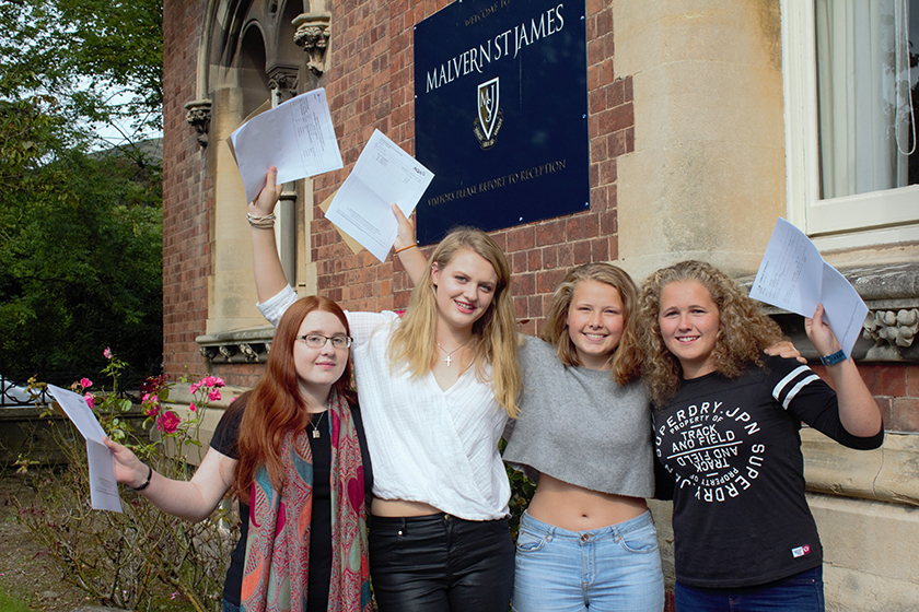 Malvern St James GCSE results