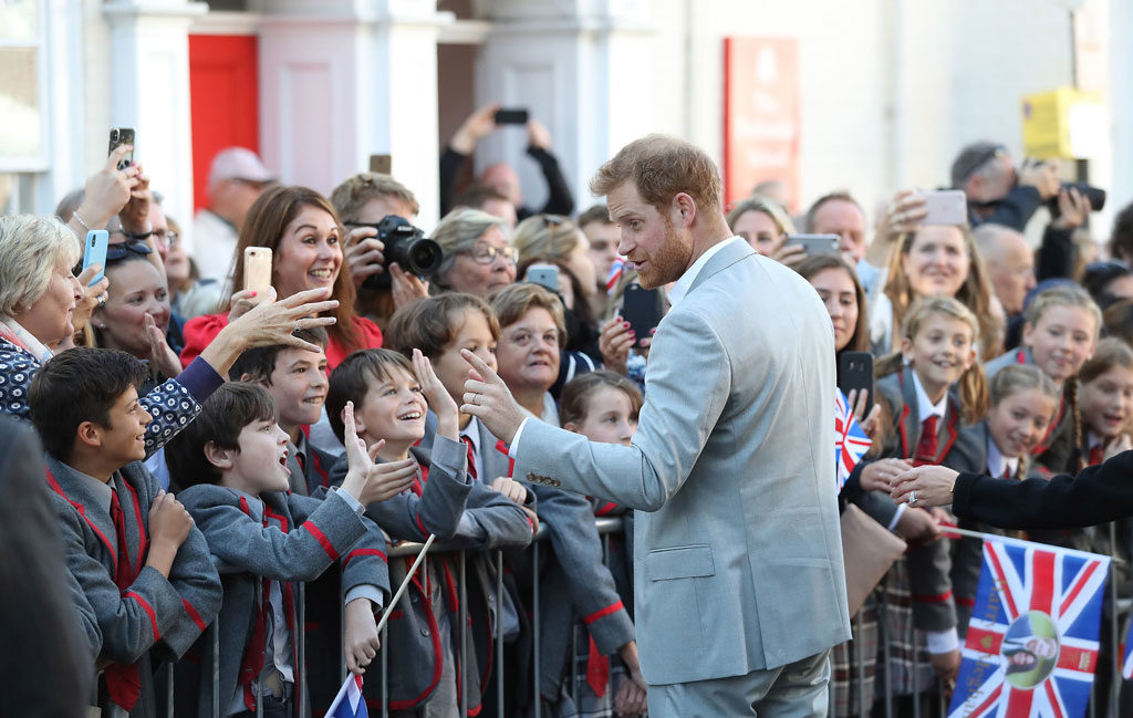 royal school visit