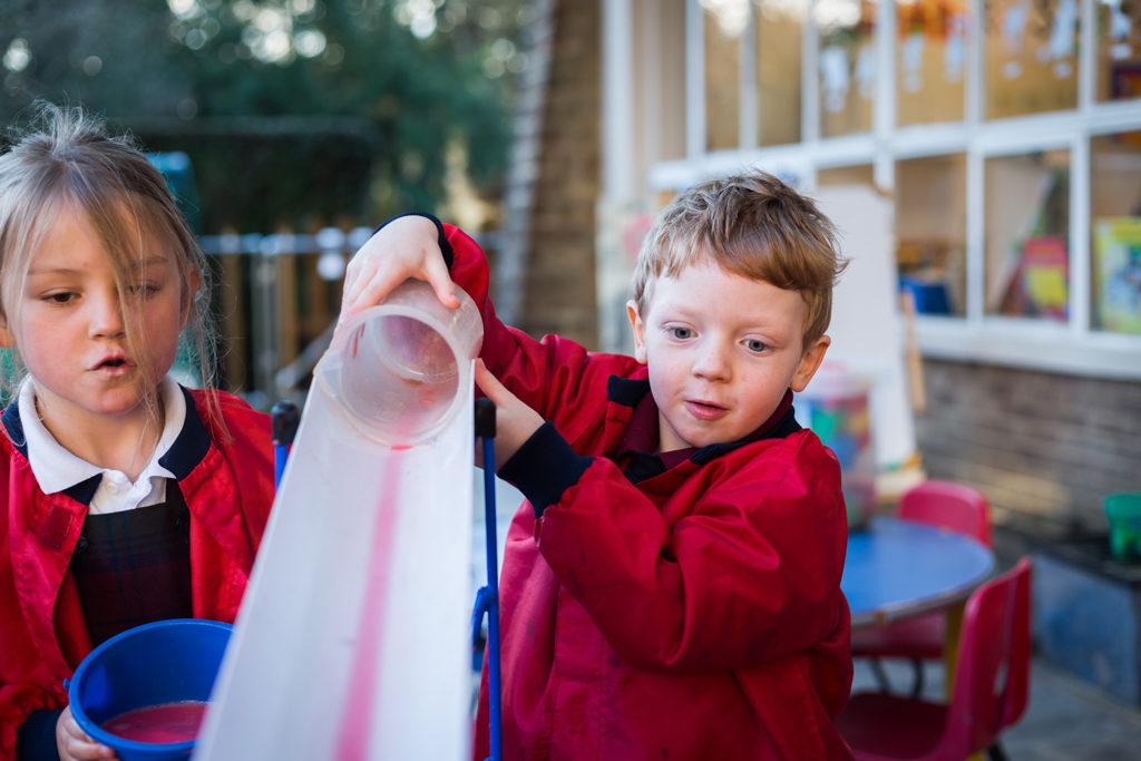 help child transition reception