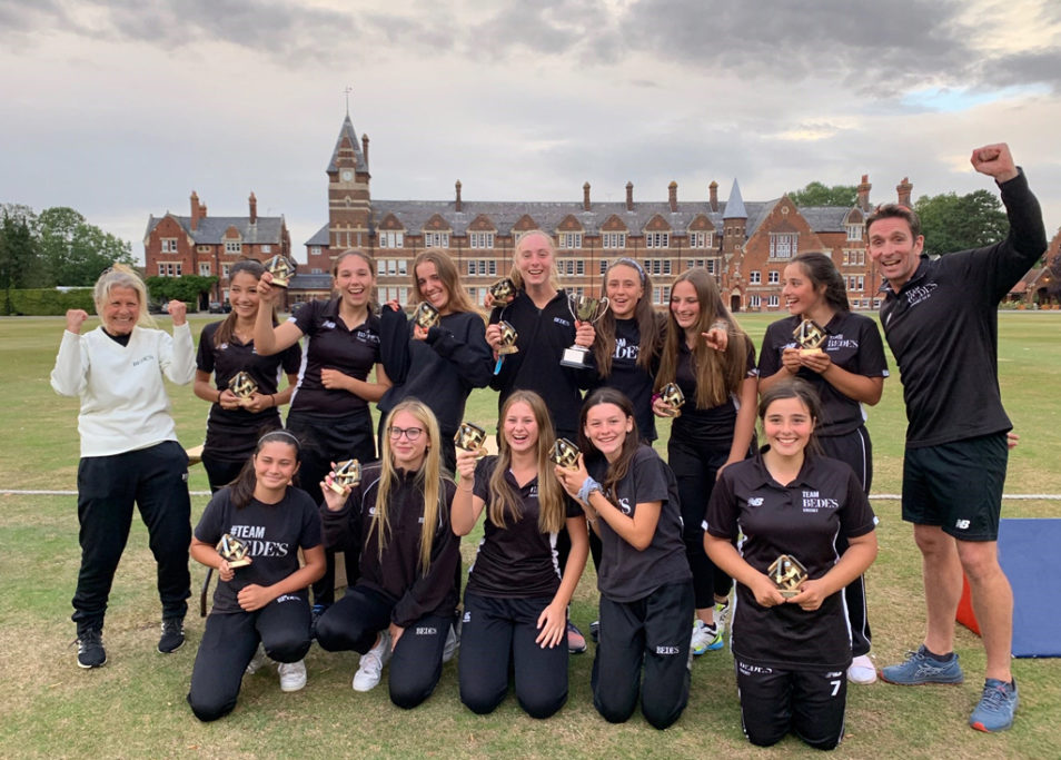 Bede's Girls National Cricket Champions
