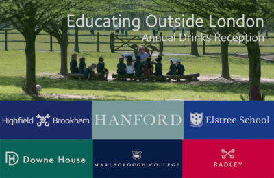 Join six leading independent schools on 15 January 2020 at Beaufort House, Chelsea, for Educating Outside London