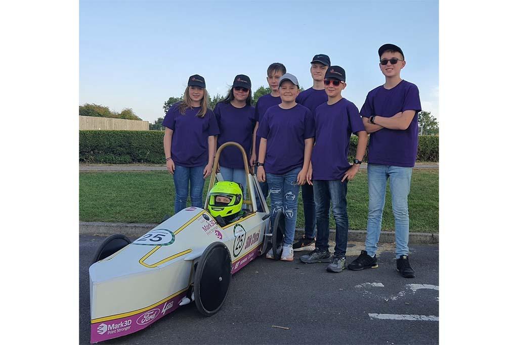 Bromsgrove School Greenpower Team Chicken