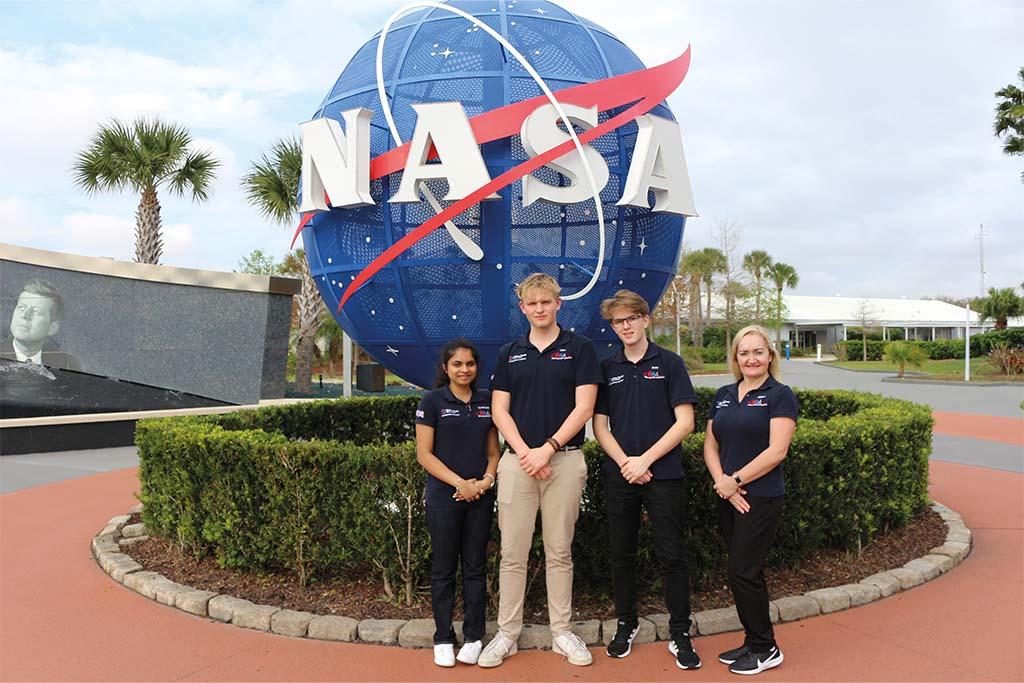 Focus: Space Studio students visit NASA