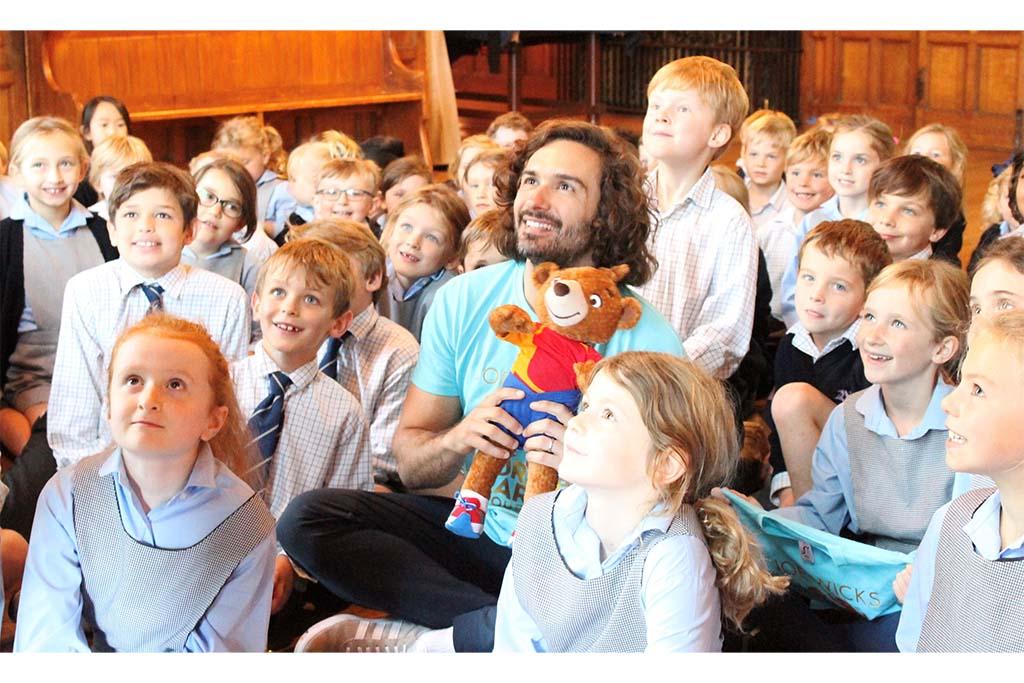 Joe Wicks visits Cottesmore