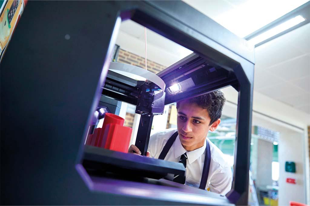 Using a 3D Printer at Merchant Taylors' School: moral case for bursaries